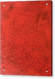 Tribal Dreams Acrylic Print by Sophia Elise