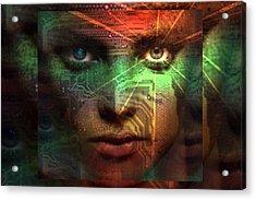 Tribal Future Acrylic Print by Shadowlea Is