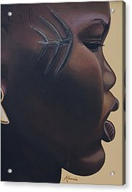 Tribal Mark Acrylic Print