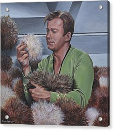 Tribble Trouble Acrylic Print