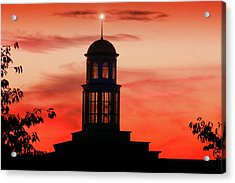 Trible Library Dome At Christopher Newport University Acrylic Print