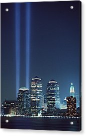 Tribute Of Light Represents The Fallen Acrylic Print