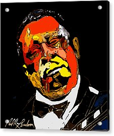 tribute to BB King reworked Acrylic Print