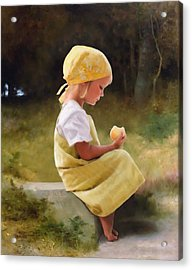 Tribute To Bouguereau  Acrylic Print by Bob Nolin