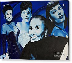 Tribute To Lena Horne Acrylic Print
