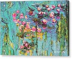 Tribute To Monet II Acrylic Print