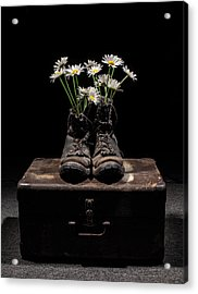 Tribute To The Fallen Acrylic Print by Aaron Aldrich
