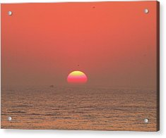 Acrylic Print featuring the photograph Tricolor Sunrise by Robert Banach