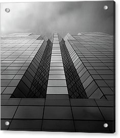 Trident Acrylic Print by Kevin Bergen