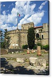 Trieste Near San Giusto Acrylic Print by Italian Art