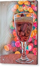 Acrylic Print featuring the photograph Trifle Remix by Dan McManus
