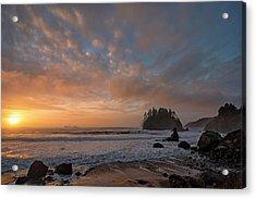 Trinidad Beach Sunset Acrylic Print