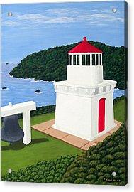 Trinidad Head Lighthouse Acrylic Print by Frederic Kohli