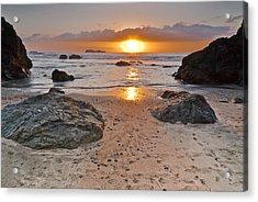 Trinidad State Beach Sunset Acrylic Print