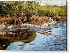 Trinidad Water Reflection Acrylic Print