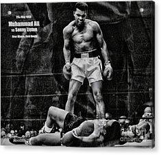 Trinity Boxing Gym Ali Vs Liston  Acrylic Print