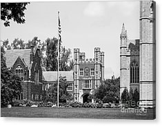 Trinity College Downes Memorial  Acrylic Print by University Icons