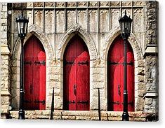 Trinity Lutheran Entrance Acrylic Print