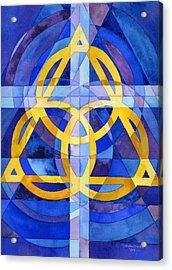 Trinity Acrylic Print by Mark Jennings