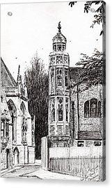 Trinity Street Cambridge Acrylic Print
