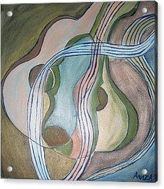 Trio Acrylic Print by Aliza Souleyeva-Alexander