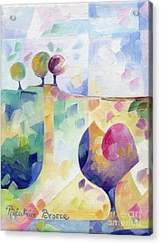 Trio Acrylic Print by Beatrice BEDEUR