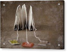 Trio Of Teabags Acrylic Print