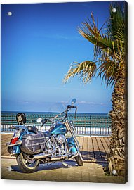 Acrylic Print featuring the photograph Trip To The Sea. by Gary Gillette