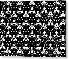 Triple Lace Acrylic Print