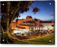 Acrylic Print featuring the photograph Tripler Army Medical Center by Geoffrey Lewis