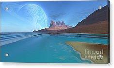 Tripoli Acrylic Print by Corey Ford