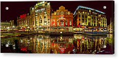 Tripping The Lights - Pano Acrylic Print
