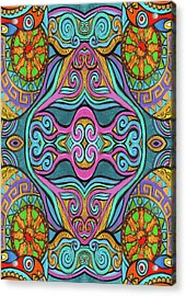Trippy Pattern Acrylic Print