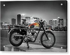 Triumph Bonneville 1962 Acrylic Print