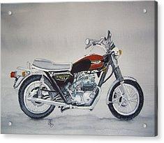 Triumph Bonneville Acrylic Print