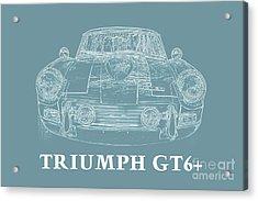 Triumph Gt6 Plus Acrylic Print