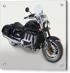 Acrylic Print featuring the photograph Triumph Rocket IIi by Richard Wiggins