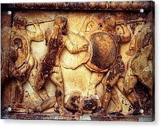 Trojan War Acrylic Print by Andonis Katanos