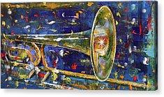 Trombone Acrylic Print