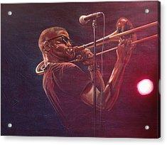 Trombone Shorty Acrylic Print