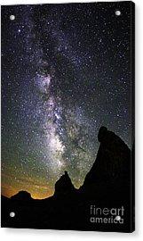 Trona Pinnacles Milky Way Acrylic Print