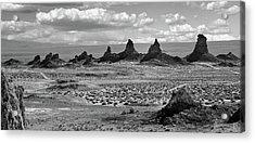 Trona Pinnacles Peaks Acrylic Print