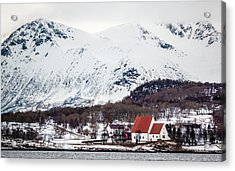 Trondenes Church Harstad Norway Acrylic Print
