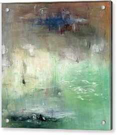 Acrylic Print featuring the painting Tropic Waters by Michal Mitak Mahgerefteh