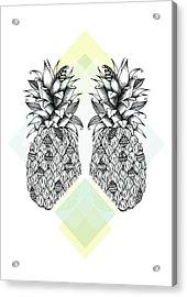 Tropical Acrylic Print by Barlena Illustrations