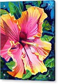 Tropical Bliss Hibiscus Acrylic Print