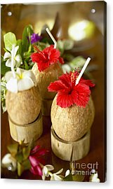 Tropical Cocktail Acrylic Print by Kyle Rothenborg - Printscapes