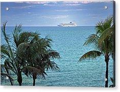 Tropical Cruise Acrylic Print