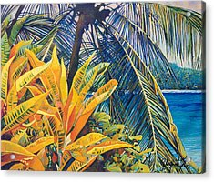 Tropical Dreams Acrylic Print