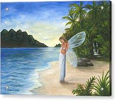 Tropical Fairy Acrylic Print
